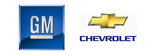 Logo: GM e Chevrolet